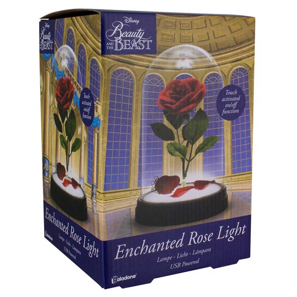 Disney - Beauty & the Beast Enchanted Rose Light - Packshot 2