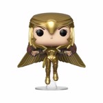 DC Comics - Wonder Woman 2 - Wonder Woman Gold Flying Pose Pop! Vinyl Figure - Packshot 1