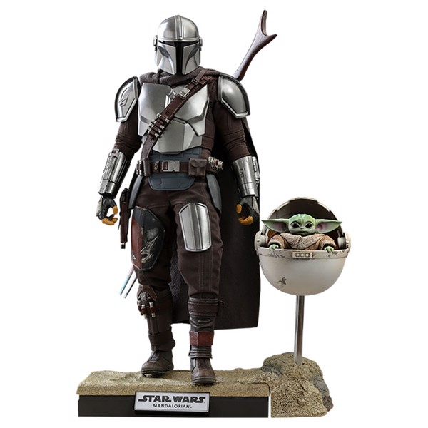 Star Wars: The Mandalorian & The Child Deluxe 1/6 Scale Action Figure - Packshot 1