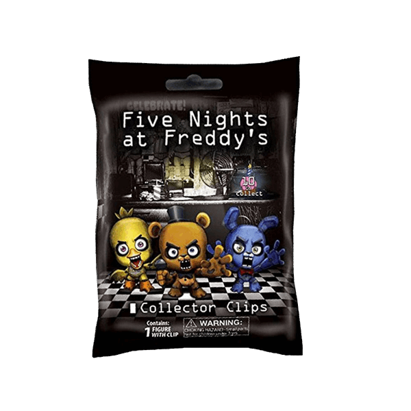 Five Nights at Freddy's - Collector Clips Blind Bag (Single Box) - Packshot 1