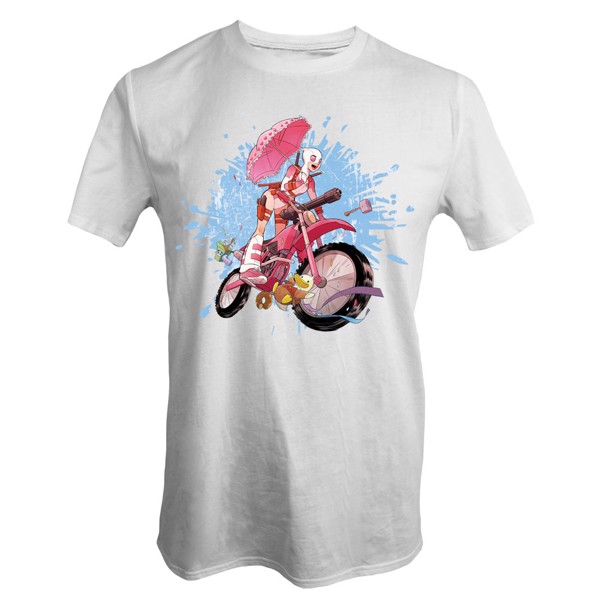 Marvel - Gwenpool Bike T-Shirt - L - Packshot 1