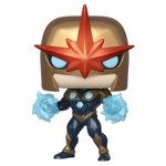 Marvel - Nova Metallic Pop! Vinyl Figure - Packshot 1
