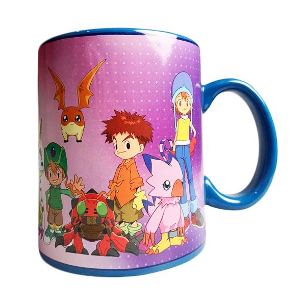 Digimon - Group Pose Mug - Packshot 1