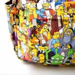 The Simpsons - Extended Cast All-Over Print Backpack - Packshot 3