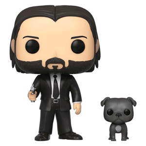 John Wick - John Wick with Dog Pop! Vinyl Figure