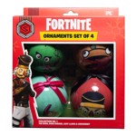 Fortnite - Bauble Collection One 4 Pack Decorations - Packshot 1