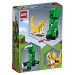 Minecraft - LEGO BigFig Creeper™ and Ocelot - Packshot 6