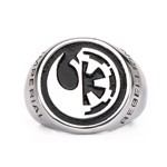 Star Wars - Rogue One - Imperial/Rebel Logo Ring - Size: 5 - Packshot 1