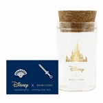 Disney - Mulan - Fan & Sword Short Story Silver Stud Earrings - Packshot 1