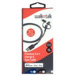 WalknTalk - Premium 3-in-1 Charge & Sync Cable - Packshot 1