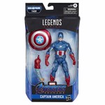 "Marvel - Avengers: Endgame Legends Series Captain America 6"" Action Figure - Packshot 2"