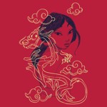 Disney - Mulan - Sketch T-Shirt - XXL - Packshot 4