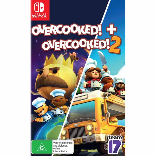 Overcooked 1 + 2 - Packshot 1