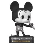 Disney - Walt Disney Archives Plane Crazy Mickey Mouse Black & White Pop! Vinyl Figure - Packshot 1
