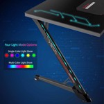 Eureka Ergonomic Z1G-PG1 Gaming Desk With RGB Lights - Glass Desktop - Packshot 6