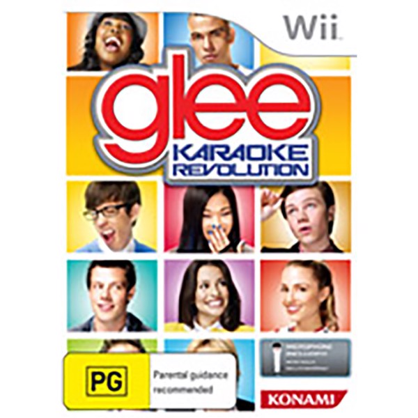 Karaoke Revolution Glee - Packshot 1