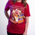 Marvel - Marvel 80th Anniversary - Marvel Fight Night Red T-Shirt - Packshot 3