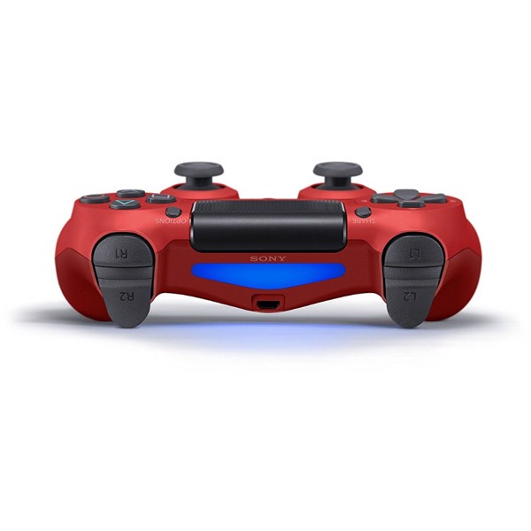 New PlayStation 4 DualShock 4 Wireless Controller - Magma Red - Packshot 4