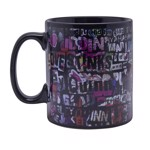 DC Comics - Harley Words Heat Mug - Packshot 1