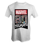 Marvel - Marvel 80th Anniversary - 80 Years T-Shirt - Packshot 1