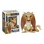 "Game of Thrones - Viserion 6"" Pop! Vinyl Figure - Packshot 1"