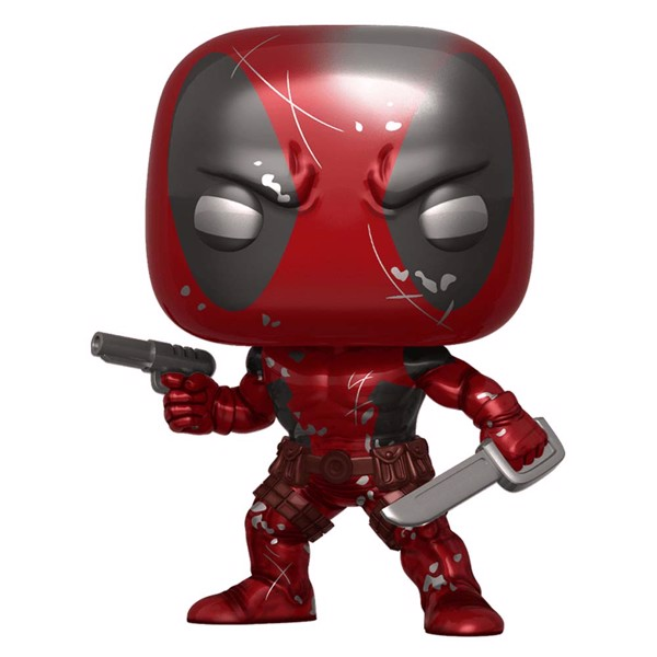 Marvel - Deadpool - Deadpool 1st Appearance Metallic 80th Anniversary Pop! Vinyl Figure - Packshot 1