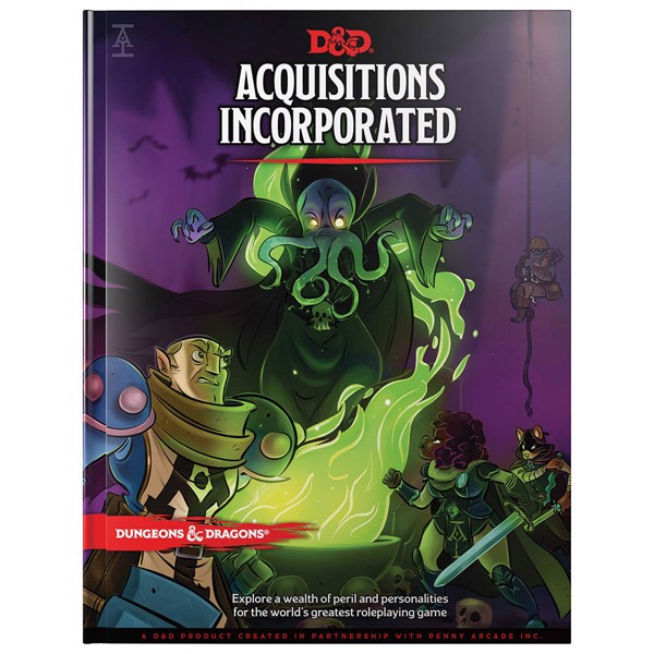 Dungeons & Dragons - Acquisitions Incorporated Book - Packshot 1