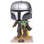 Star Wars - The Mandalorian with Jetpack Pop! Vinyl Figure - Packshot 1