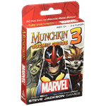 Munchkin: Marvel 3 Cosmic Chaos Game Expansion - Packshot 1