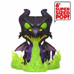 "Disney - Sleeping Beauty - Maleficent as Dragon with Glow Flames 6"" Pop! Vinyl Figure - Packshot 1"