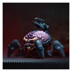 Official DOOM ® Arachnotron Collectible Figurine - Packshot 4