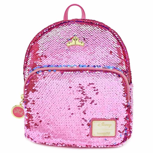 Disney - Sleeping Beauty Loungefly Reversible Sequin Mini Backpack - Packshot 1