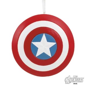 Marvel - Captain America's Shield Hallmark Resin Ornament - Toys & Gadgets