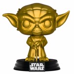 Star Wars - Yoda Gold Metallic Pop! Vinyl Figure - Packshot 1