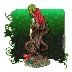 Batman - Poison Ivy on Vine Throne with Killer Flower Statue - Packshot 6