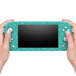 Nintendo Switch Animal Crossing: New Horizons Teal Leaves Lite Skin - Packshot 2