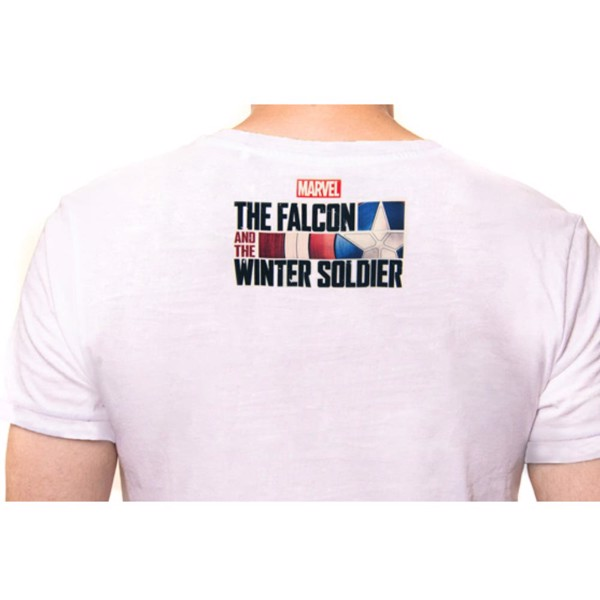 Marvel x BossLogic - The Falcon & The Winter Soldier Premium T-Shirt - Packshot 4