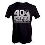 Star Wars - Empire Strikes Back 40th Anniversary Black T-Shirt - L - Packshot 1
