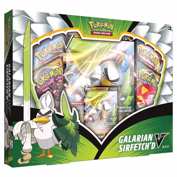 Pokemon - TCG - Galarian Sirfetch'd V Collection - Packshot 1