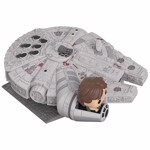 Star Wars - Han in Millennium Falcon Pop! Ridez Figure - Packshot 2