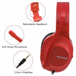 SADES Spirits Universal Gaming Headset (Red) - Packshot 4