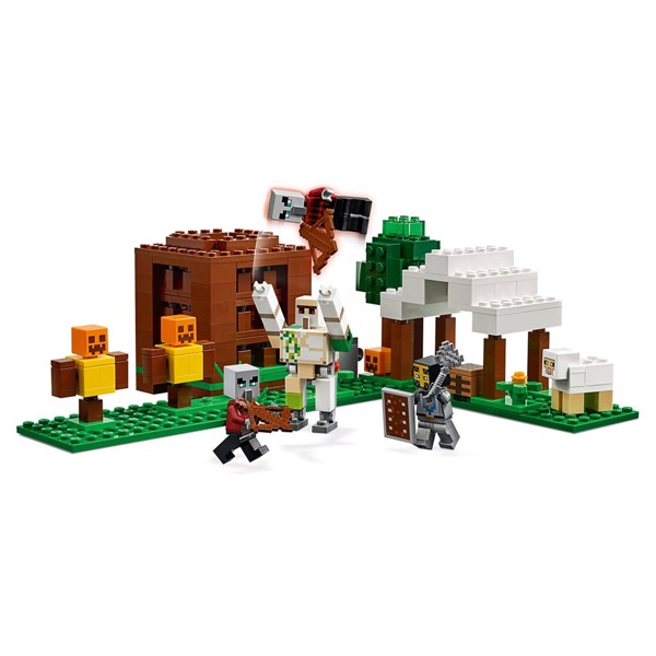 Minecraft - LEGO The Pillager Outpost - Packshot 4