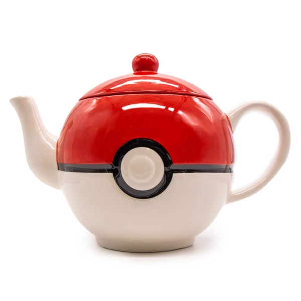 Pokemon - Poke Ball 3D Moulded Teapot - Packshot 1