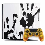 PlayStation 4 Pro 1TB Limited Edition Death Stranding Console - Packshot 1