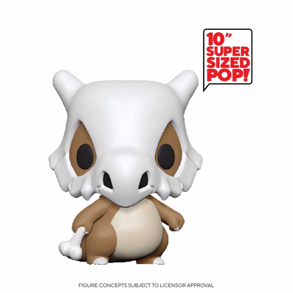 "Pokemon - Cubone 10"" Pop! Vinyl Figure - Packshot 1"
