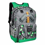 Minecraft - Emerald Survivalist Backpack - Packshot 1
