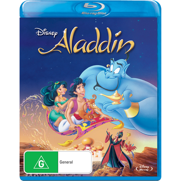 Disney - Aladdin Blu-Ray - Packshot 1