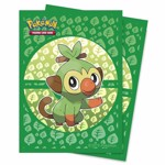 Pokemon - TCG - Grookey 65-Count Ultra Pro Deck Protector Sleeves - Packshot 1