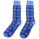 Marvel - Avengers: Endgame - Cosmic Symbols Blue Socks - Packshot 1