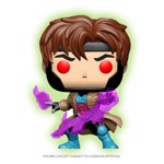 Marvel - X-Men - Gambit with Cards Glow in The Dark Pop! Vinyl Figure - Packshot 1